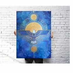 """Plakat """"Kosmiczny Orzeł"""""""